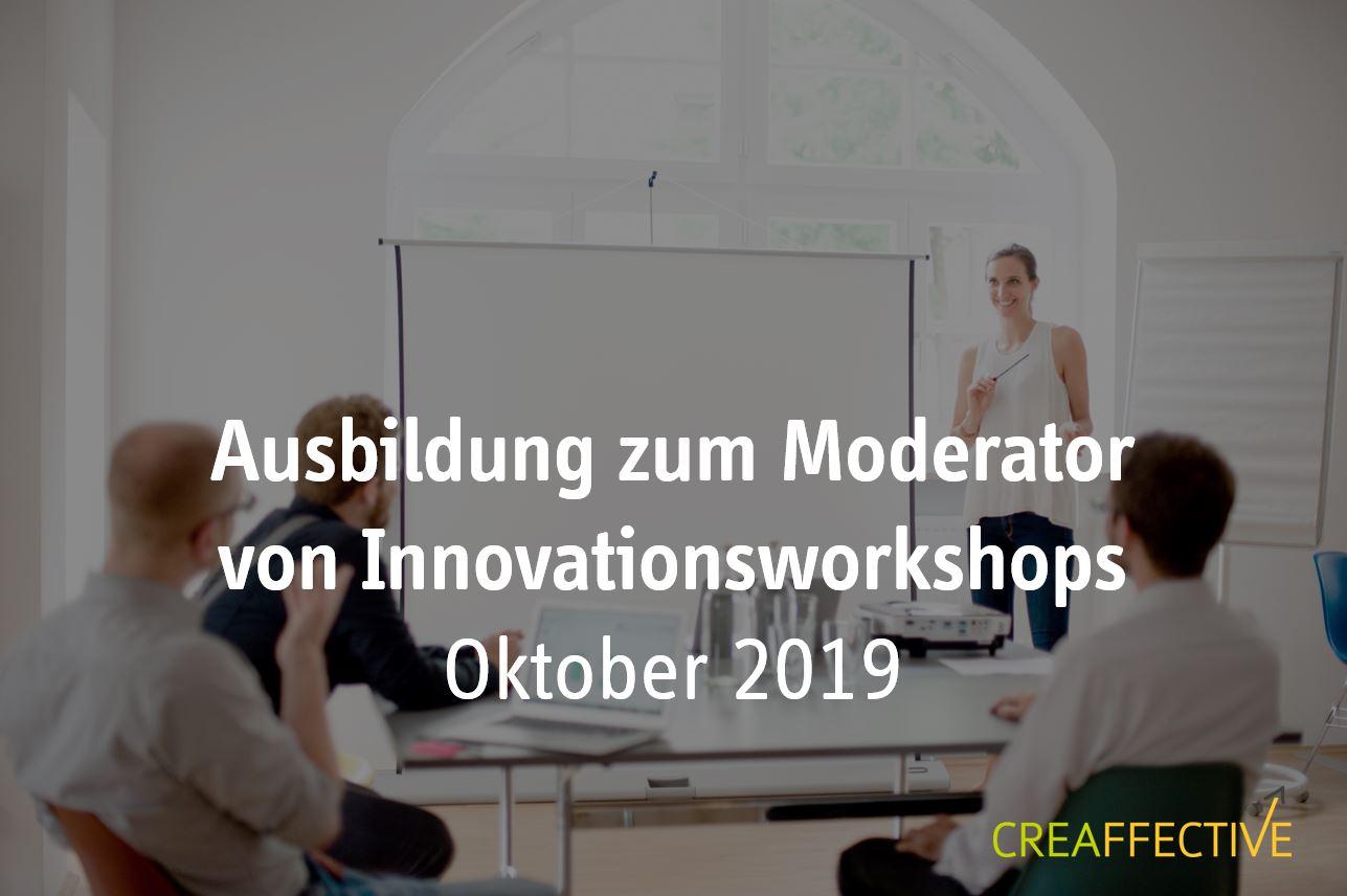 Ausbildung zum Moderator von Innovationsworkshops