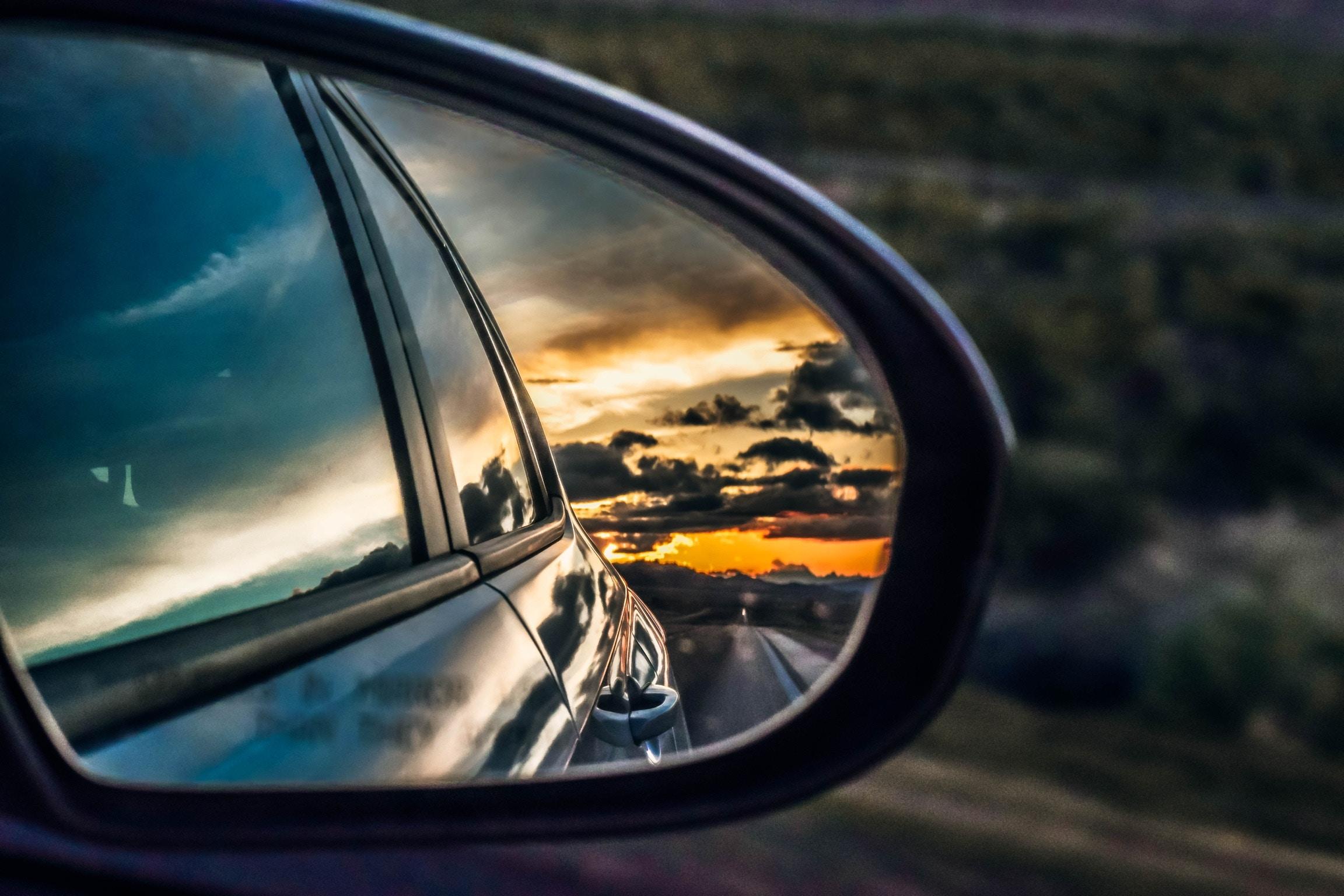 Der Blick in den Rückspiegel